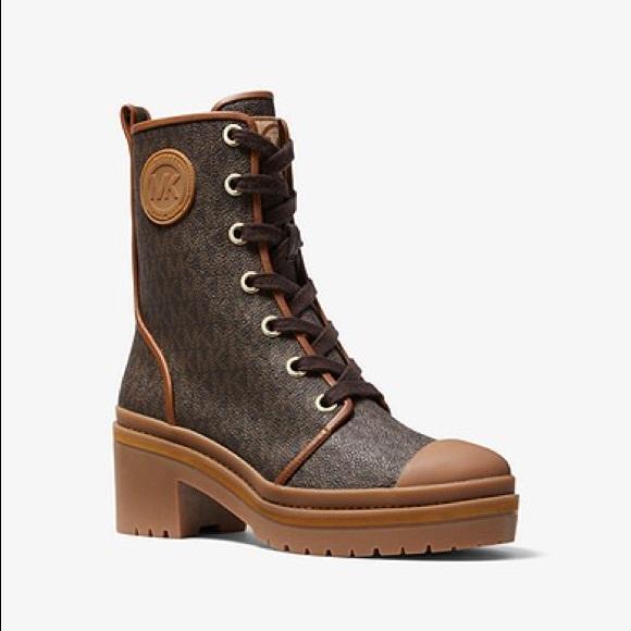Michael Kors Shoes | Corey Logo Boot